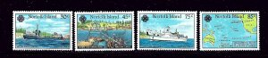 Norfolk Is 319-22 MNH 1983 Anzcan Cable