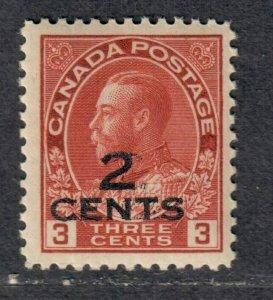 $Canada Sc#140 M/NH/F-VF, Cv. $47.50