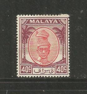 MALAYA, PERAK, 115,  HR, PROFILE RED