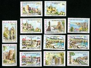 Turkey Stamps # 10-22 XF OG NH Representative of Cyprus Catalog Value $16.70