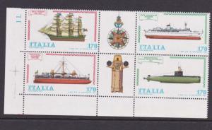 Italy 1979 Ship Sc 1385a MNH OurRef.#z0159