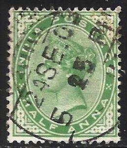 India 1882 Scott# 36 Used