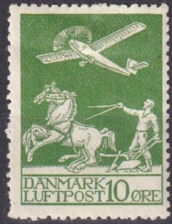 Denmark #C1 Unused  CV $26.00 (A19809)