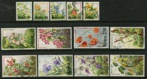 KENYA Sc#248-253, 255-261 1983 Flowers Part Set Postally Used