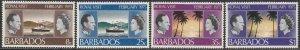 Barbados #416-19 F-VF Mint NH ** Royal Visit
