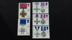 Great Britain 1990 Gallantry Awards  Mint