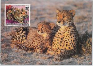 62879 -  Haute-Volta Upper Volta  - POSTAL HISTORY: MAXIMUM CARD 1984 - WWF