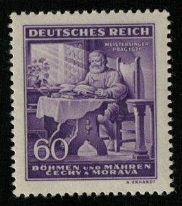 Deutsches Reich, MNH, **, Praga, 60 (T-8649)