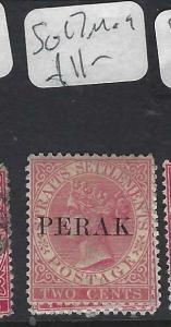 MALAYA PERAK (P0702B)  QV  2C  SG 17   MOG