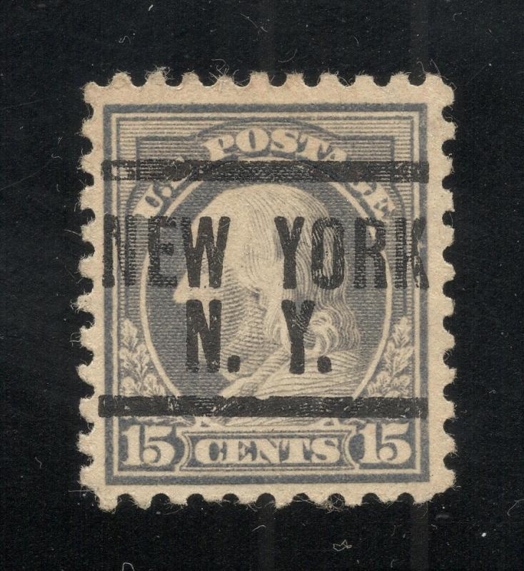 US#475 Gray - New York, N.Y. Precancel - Used