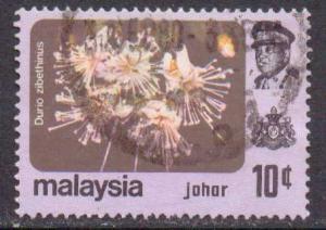 Malaya-Johore  #186  used  (1979)