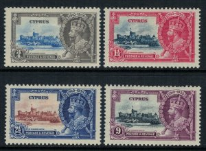 Cyprus #136-9*  CV $39.75