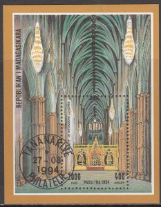Madagascar, SW1771, CTO-NH, 1994, Cathederal