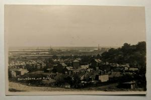 Vintage Belvedere and River Roscommon Ireland Real Picture Postcard Cover