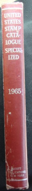 1965 Used Scott US Stamp Catalogue, Specialized Edition