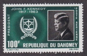 Dahomey # C30, John F. Kennedy, NH, 1/2 Cat.