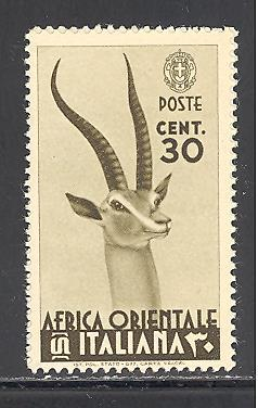 Italian East Africa Sc # 8 mint never hinged