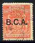Nyasaland 1891-95 BCA opt on 2s vermilion fine used but c...