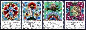 Liechtenstein. 1977. 679-82. Zodiac signs. MNH.
