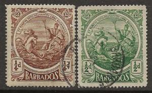 Nickel Auction. Barbados 127-128 u [ca01]