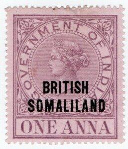 (I.B) British Somaliland Revenue : Duty Stamp 1a