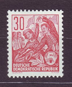 J23561 JLstamps 1953-4 germany DDR part of set mh #198