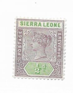 Sierra Leone #34 MH - Stamp - CAT VALUE $2.75