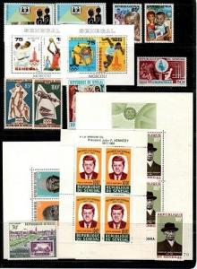 Senegal- small collection of Mint NH sets (Catalog Value $46.95) [TC675]