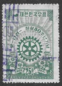 Korea  Scott 214  Used