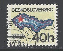 Czechoslovakia Sc # 2369 used (DDT)