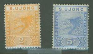 Malaya Sungei Ujong 32-33 Mint F-VF HR