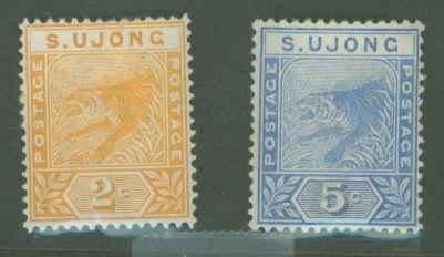 Malaya Sungei Ujong 32-33 Mint F-VF HR