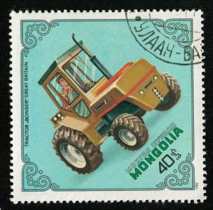 Tractor, Mongolia, 40₮ (T-7078)