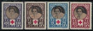 Romania #B247-50*  CV $2.50