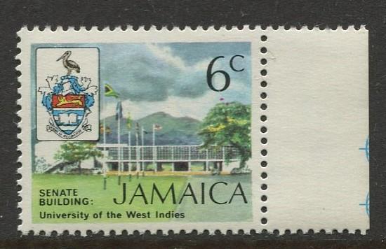 Jamaica - Scott 348 - QEII Definitive -1972 - MNH - Single 6c Stamp