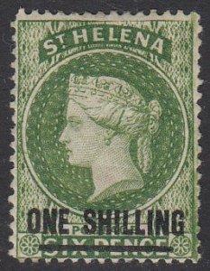 St. Helena 31 MH CV $25.00