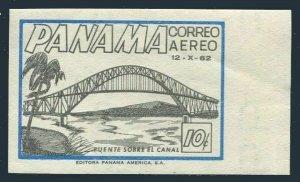 Panama C273 imperf,MNH.Michel 632. Thatcher Ferry Bridge,1962.