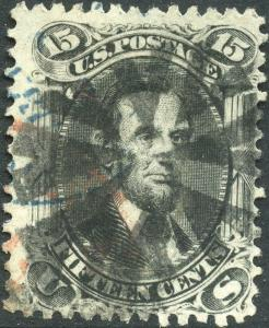#77 USED WITH RED AND BLACK CANCEL CV $245.00 BN4695