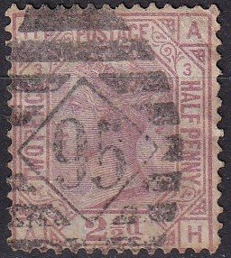 Great Britain #67 Plate 3 F-VF Used  CV $125.00 (Z9106)