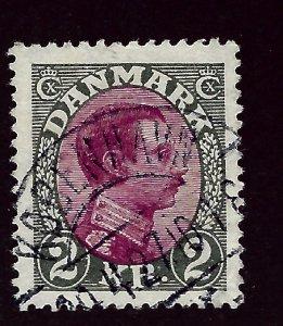Denmark SC #129 Used  VF SC$26.00   ..Scandinavian sweet spot!!