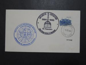 South Africa 1985 Neumayer Station Antarctic Cover / 2 Cachet - Z9565