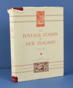 LITERATURE New Zealand: The Postage Stamps of, Vol 2, edited by Collins & Watts