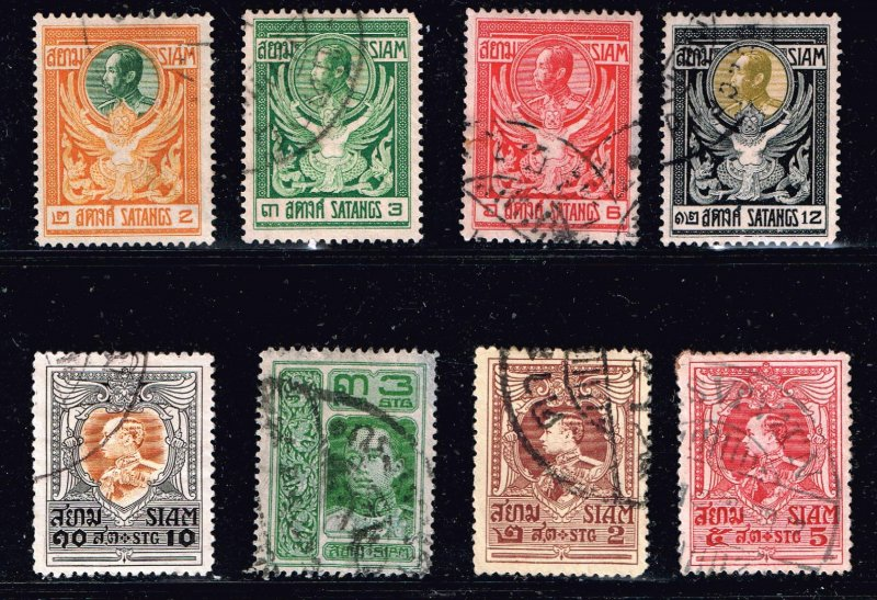 Thailand Stamp Thailand SIAM STAMP USED STAMP COLLECTION LOT #M1