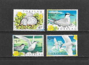 BIRDS - TOKELAU #278-81  MNH