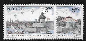 12488 Norway 991 - 992 mnh 2017 SCV $4.25