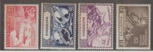 Mauritius Scott #231-234 Stamps - Mint NH Set