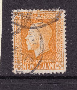 New Zealand a good used KGV 2d recess