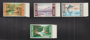 KENYA, UGANDA & TANGANYIKA, 1966 Tourism set of 4, marginal, mnh.