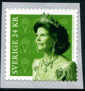 2021 Sweden Queen Silvia  Coil (Scott NA) MNH