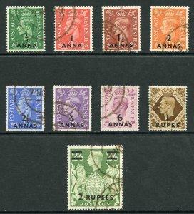British Postal Agencies in Eastern Arabia SG16/24 Fine Used